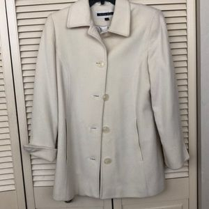 Kristen Blake cream coat size small